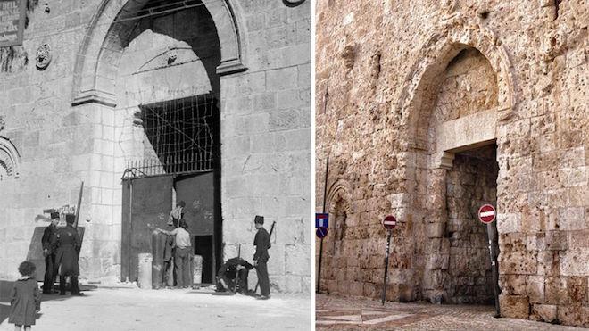 Путешествие во времени: как изменился Иерусалим за 100 лет