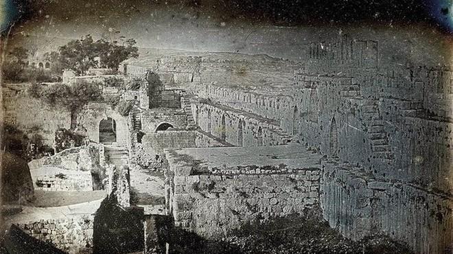 Первые фотографии Иерусалима, сделанные 175 лет назад