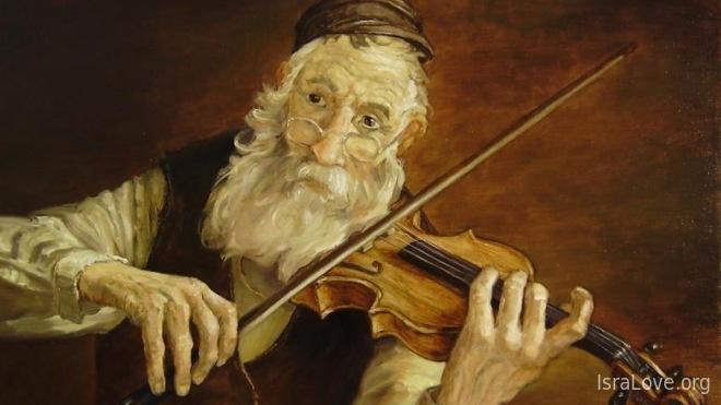 Евреи и скрипка - традиция, помогающая «не сломать шею»